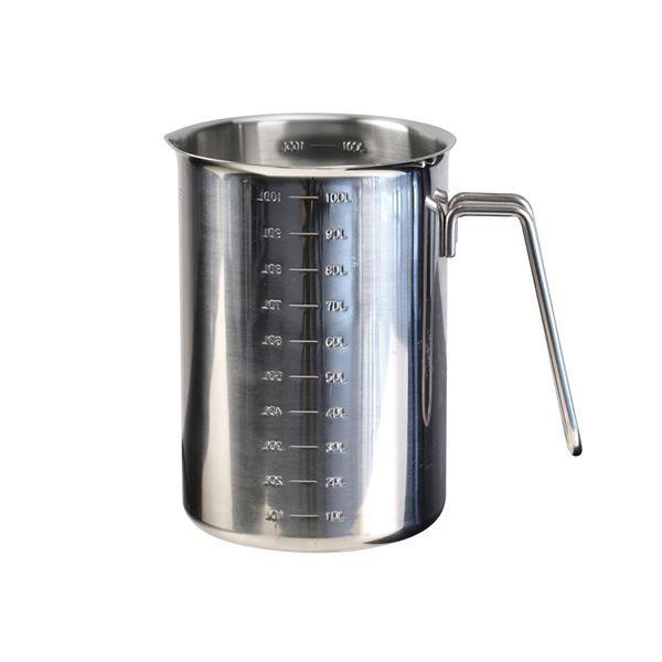 Stålmålebeger 1 liter 229,- Kitchn.no