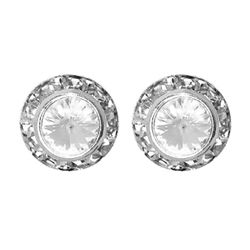 Perfect Stocking Stuffer for under $25!!   Round Button Rhinestone Earrings-Bridal Earrings-Prom Earrings#christmas stocking stuffer # stocking stuffer#stocking stuffer for women# jewelry stocking stuffer#gifts #gifts for women #gifts for teens#gifts for girls#gifts for mom# gifts for wife#gifts for sister