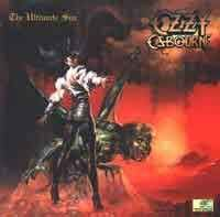 [Ozzy Osbourne The Ultimate Sin Album Cover]