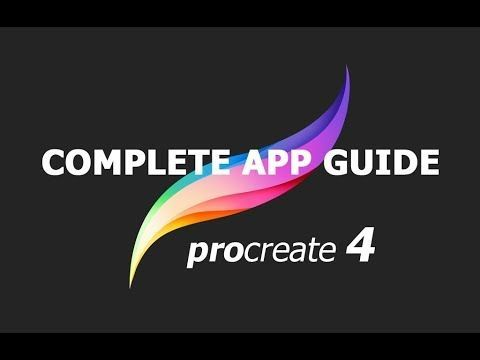 (128) Procreate 4 tutorial A complete app guide for iPad