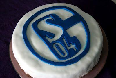 Schalke-Torte