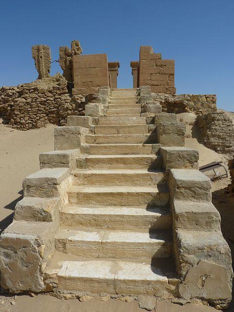 Karanis: Northern Temple ,Roman stage, Egypt