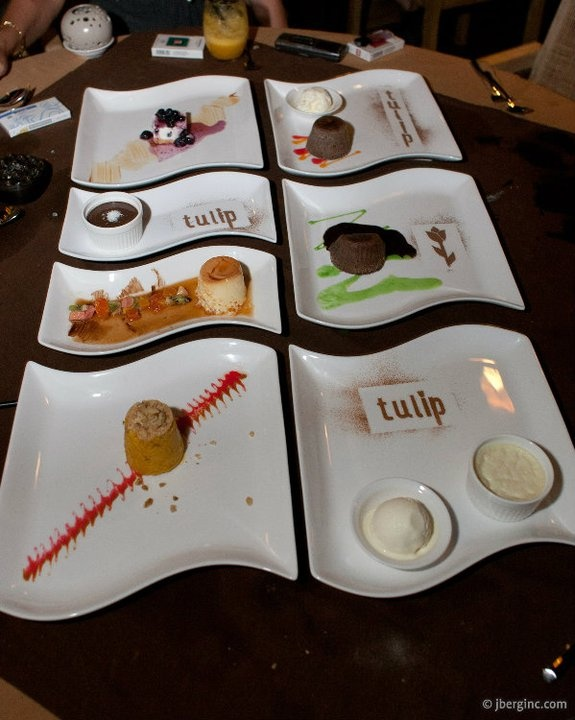 One of the best desserts collection from Tulip, a Turkish Restaurant in Seminyak, Bali.