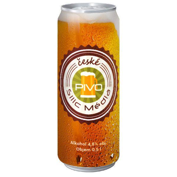 pivo s vlastním potiskem