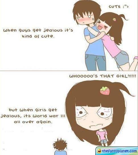 When Girls Get Jealous!