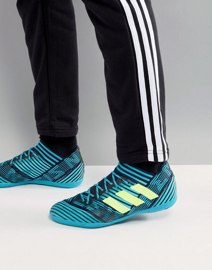 Shop adidas Soccer Nemeziz Tango Indoor Sneakers In Navy at ASOS.