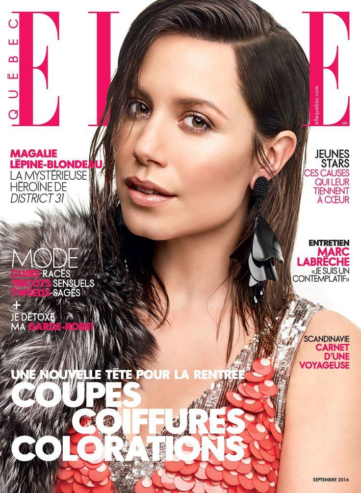 Magalie Lépine-Blondeau for Elle Quebec September 2016