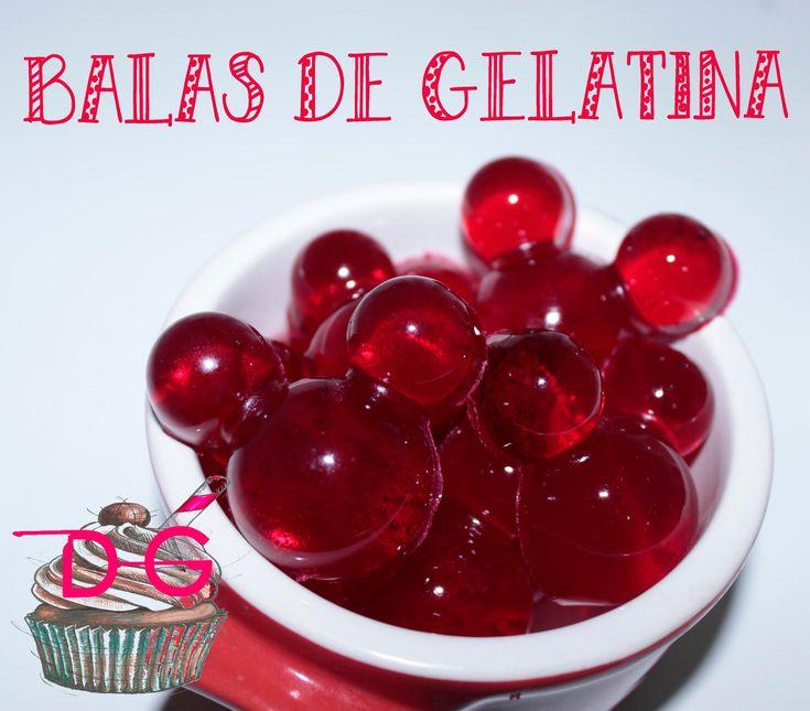 Como Fazer Bala de Gelatina
