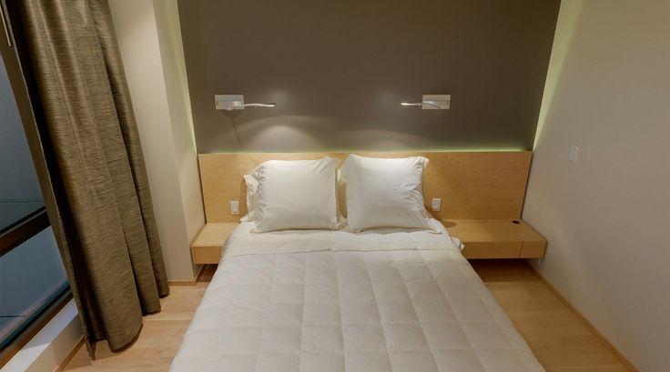 Deux suites type condo-hôtel pour les invités