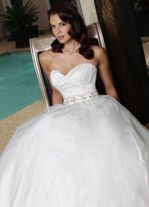DAVINCI WEDDING DRESS 50173