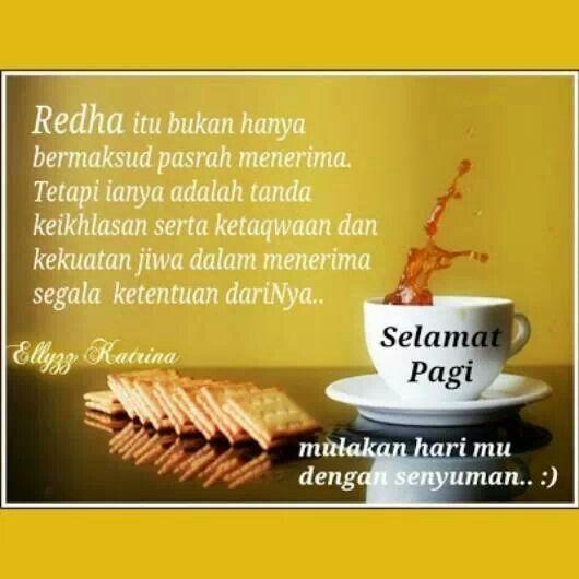 Redha ~ Selamat Pagi
