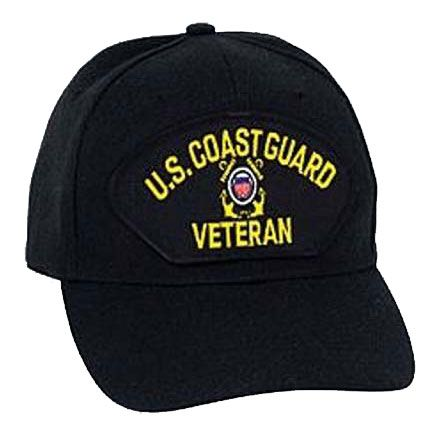 U.S. Military Online Store - Coast Guard Veteran Logo Hat | I'm a Veteran of The US Coast Guard Hat