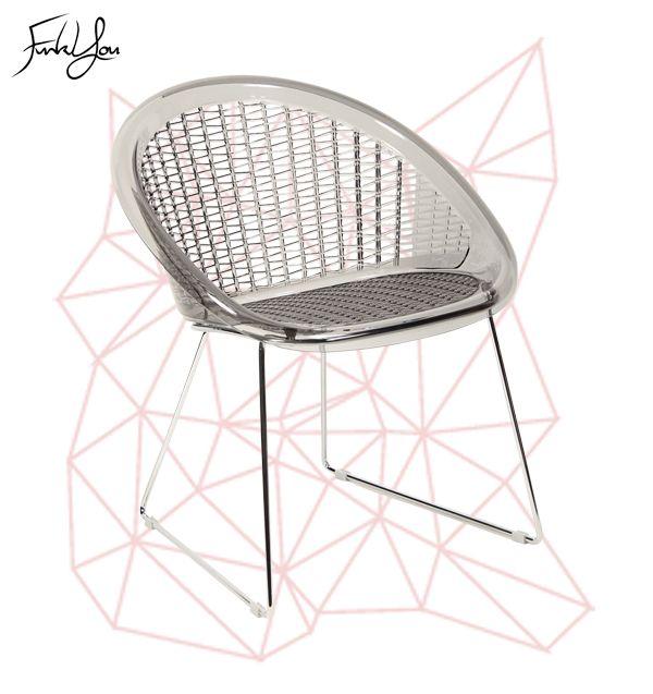 The St Tropez Chair - Smoked Grey. www.funkyou.com.au