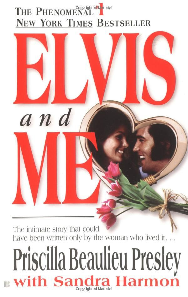 Elvis and Me - Priscilla Beaulieu.  I bought this book on my visit to Graceland. A must read for any Elvis fan :) ☆☆☆☆