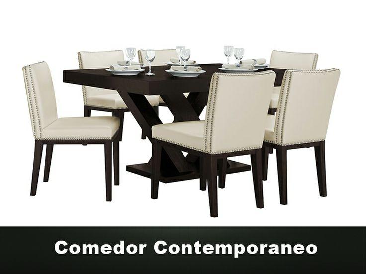 1000 ideas about comedor de 6 sillas on pinterest for Comedor 505 san pedro