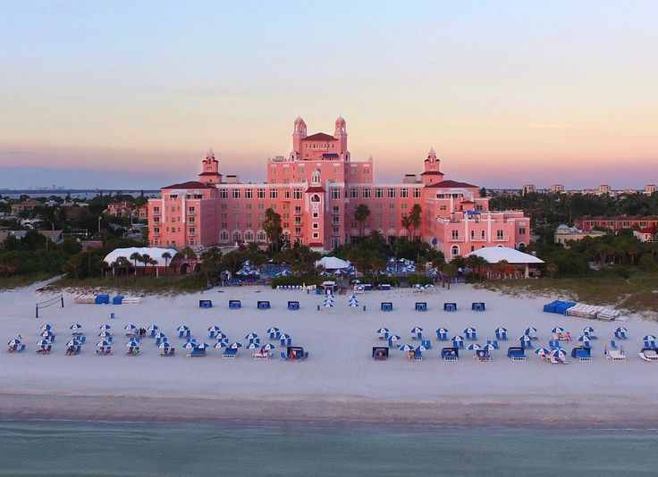 Loews Don CeSar Hotel Nicknamed Florida's Pink... | Luxury Accommodations
