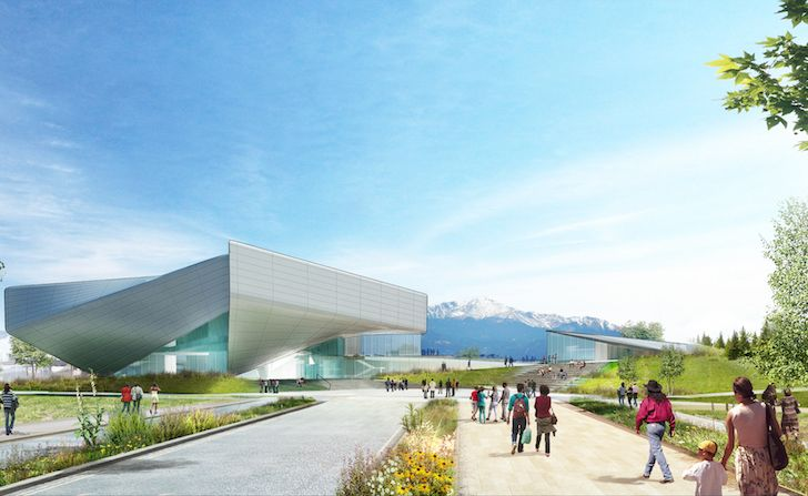 Diller Scofidio + Renfro reveal preliminary concept for the US Olympic Museum DSR_OlympicMuseum3 – Inhabitat - Green Design, Innovation, Architecture, Green Building