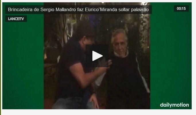 JORGE EDUARDO FONTES GARCIA - IN FOCUS: SERGIO MALLANDRO ENCONTRA EURICO MIRANDA E OUVE UM...