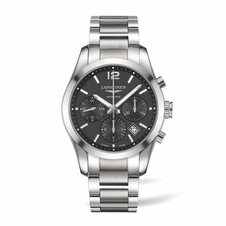 LONGINES Conquest Classic automatic chronograph L2.786.4.56.6 Ανδρικό αυτόματο κλασικό ρολόι LONGINES με χρονογράφο | LONGINES ρολόγια ΤΣΑΛΔΑΡΗΣ #conquest #classic #longines #ρολόγια