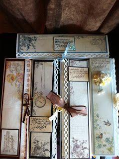 Andersens scrapperier: Sjokoladekort 200g sjokoladeplate ;)