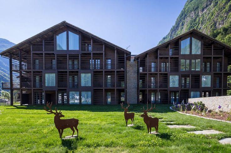 Mirtillo Rosso Family Hotel, Riva Valdobbia, 2015 - Rita Cattaneo, Francesca Battisti