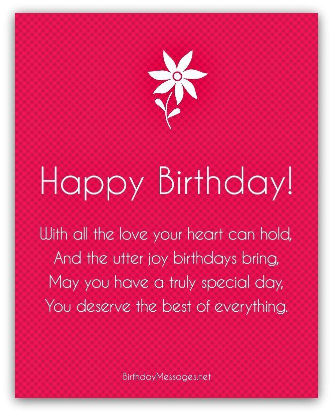 Best 25 Short birthday poems ideas – Birthday Greeting Poems