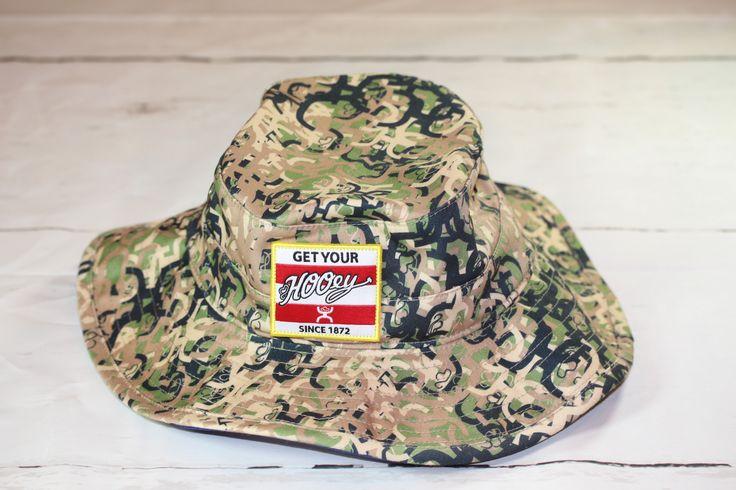"HOOey Camo bucket hat ""Ziggy"" OSFA 1763-C NEW FOR 2017"
