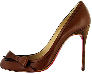I would wear these if they had a shorter heel.  Or maybe I'd wear them once a year just for fun.  :)