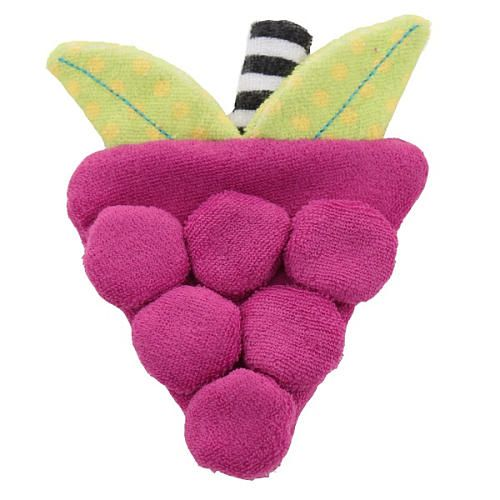 "Sassy Grapes Terry Teether - Sassy - Toys ""R"" Us"