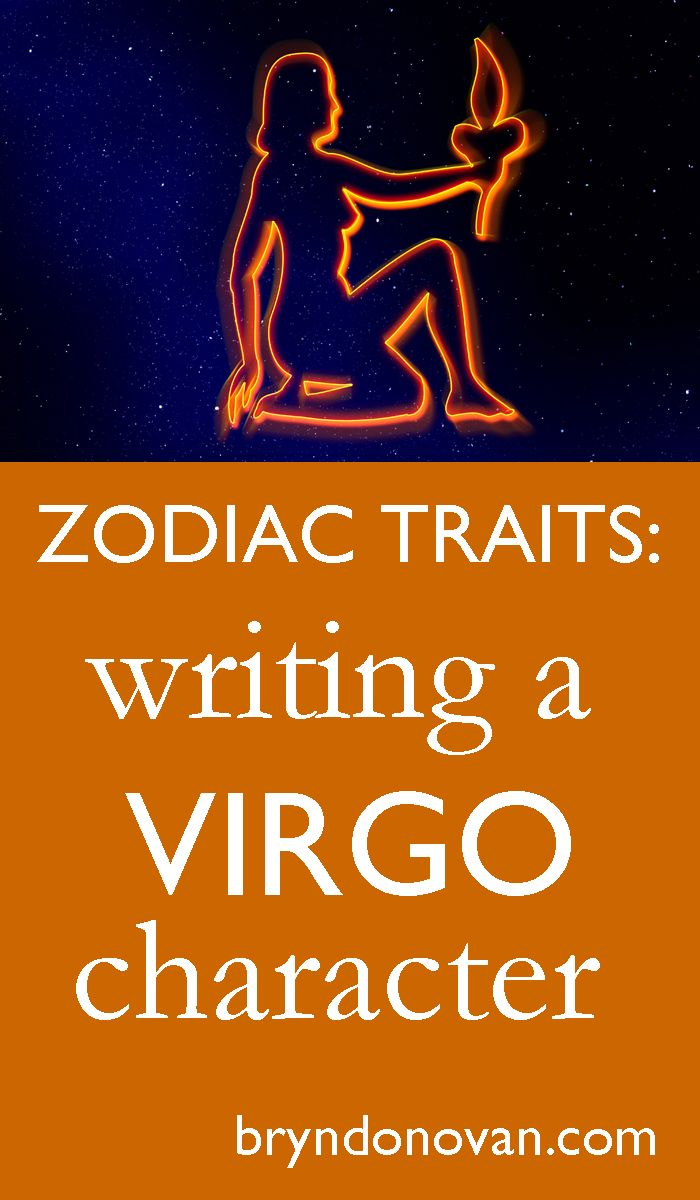Zodiac Traits: Writing a VIRGO Character #astrology