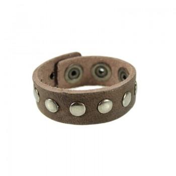 Cowboysbelt bracelet 2497 Taupe - Skiks.com