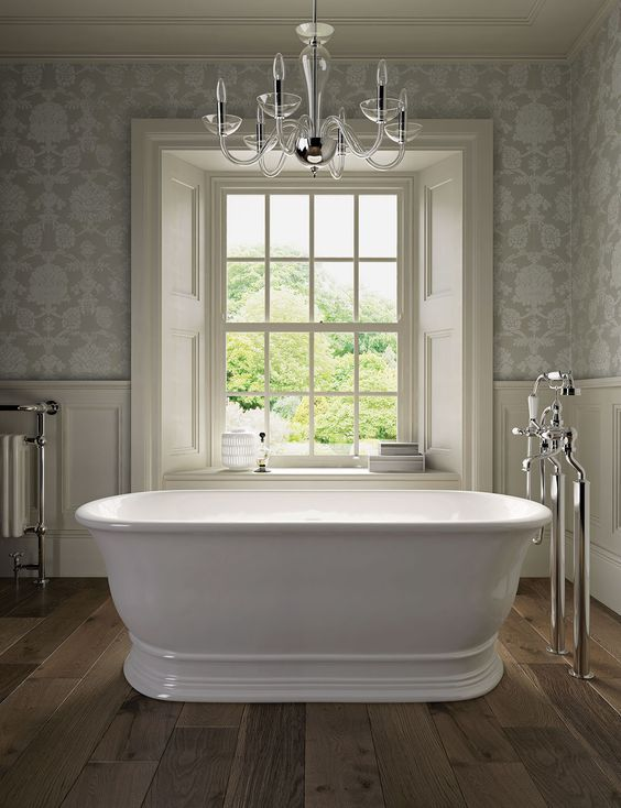 55 Trending Traditional Decor Style That Will Inspire You With Images Classic Bathroom Design Timeless Bathroom Traditional Bathroom