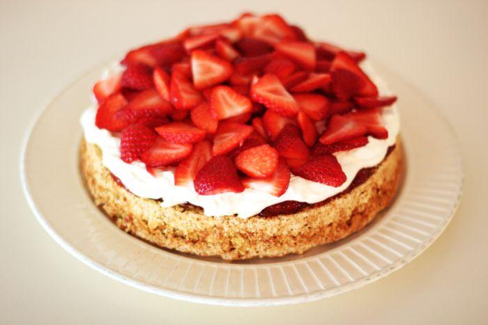 oppskrift: sunn kake - KRISTINE