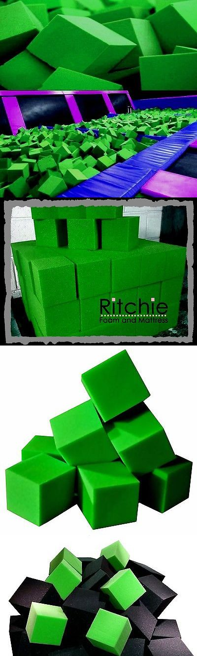 Equipment 79793: Foam Pits Blocks 1000 Pcs. Lime Green 4 X4 X4 (1536) Flame Retardant Pit Foam -> BUY IT NOW ONLY: $459.99 on eBay!