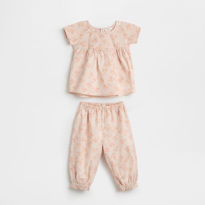 フラワーコットンパジャマ - 子供 - ホームウェア | Zara Home 日本/Japan