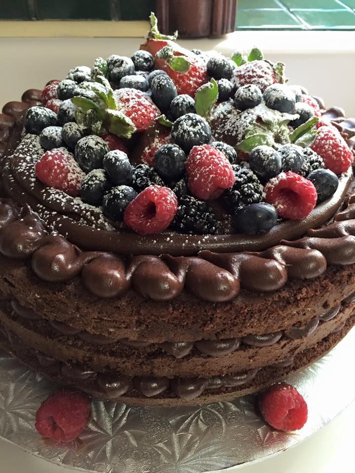 Naked de Frutas Vermelhas e Chocolate
