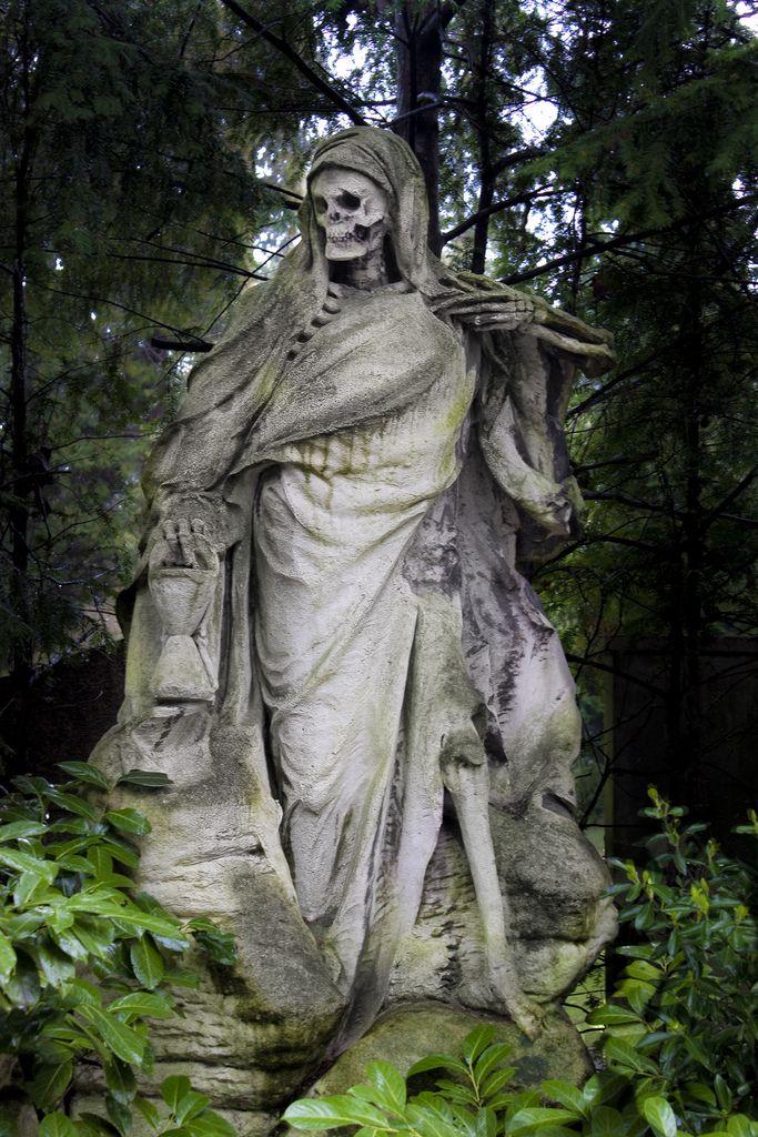 The Grim Reaper lost his Scythe | Funerary Art | Pinterest ...