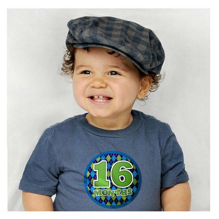 The PERFECT way to ensure that you never wonder when that pic was taken in years to come!  Gorgeous plaids and argyles continued!! Stick on any tee to brighten your little one's next photos!!   Little Boo-Teek - Sticky Bellies Online   Unique Baby Gifts   Baby Store Online