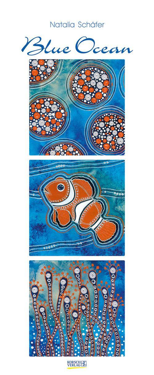 Blue Ocean 2015 Kalender unterwasser Korsch Verlag Natalia Schäfer signiert!!!! | eBay
