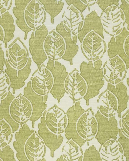 ... leaf bloomsbury style style google fabrics textiles linen fabric olive