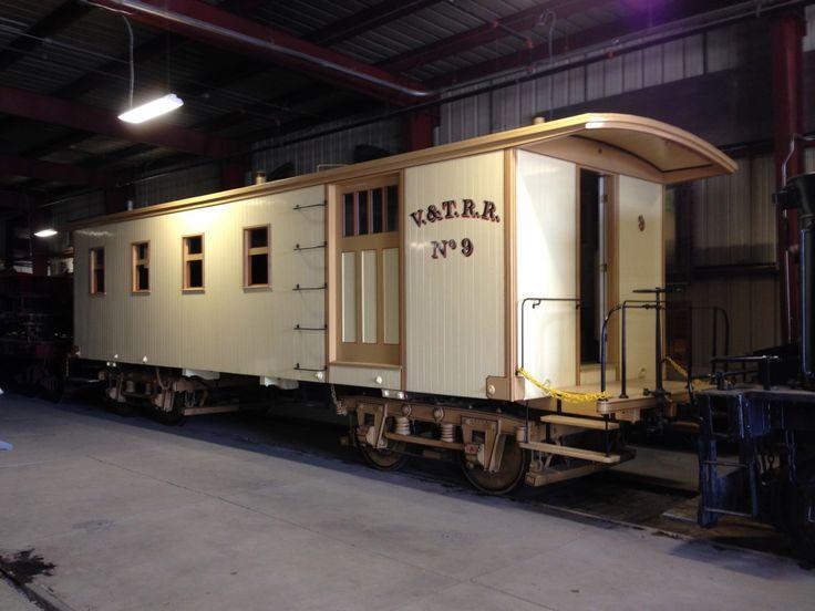 Virginia & Truckee No.9 CabooseCoach, built in 1872 by