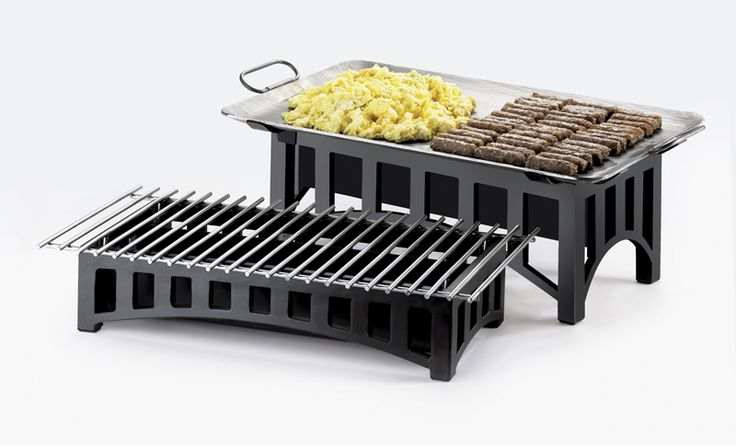 Mission Chafer Alternative Item: 1360-22-13, 1364-22-13, 1360-12-13, and 1364-12-13. Cook, serve, and showcase your delicious arrangements of food with this great alternative to conventional chafers! It features a black mission style chafer and grill that allows you to serve and display your dishes with some style. http://www.calmil.com/index.php?page=shop.product_details&flypage=flypage.tpl&category_id=51&product_id=214&option=com_virtuemart&Itemid=3#stha