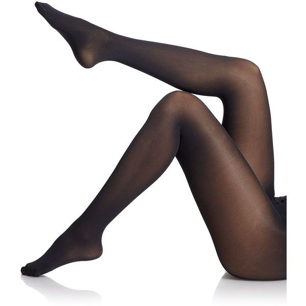 Falke Pure Matte 50 Opaque Tights (£30) ❤ liked on Polyvore featuring intimates, hosiery, tights, apparel & accessories, black, spandex tights, falke pantyhose, falke tights, falke and opaque hosiery