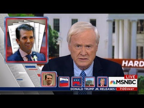Hardball with Chris Matthews 7/11/17 - Trump Jr. emails suggest he welcomed Russian help