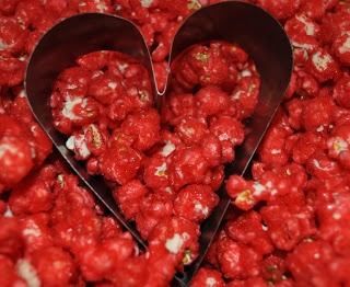 Red Hot Cinnamon Popcorn.  I ate some of this last night and OMG they are delish!!