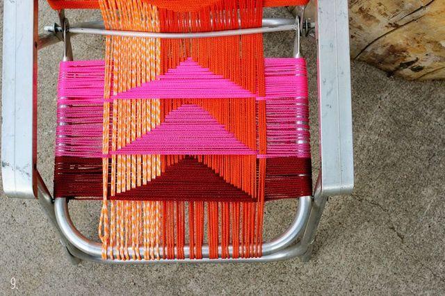Aluminum Chair Makeover | A Beautiful Mess | Bloglovin'