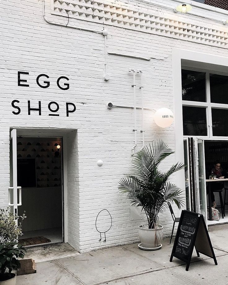 Egg Shop, Brooklyn #cafe Photo: Melissa Male