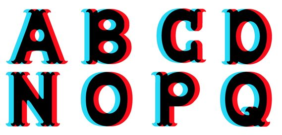 Freaky Font by Mike Hayes- trippy or what?!