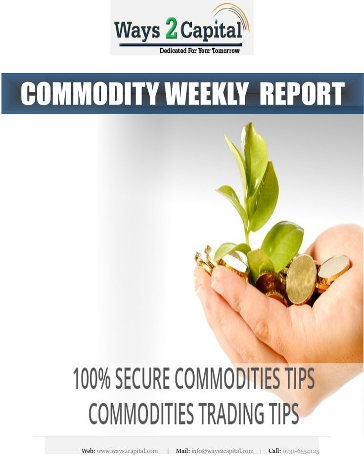 Ways2Capital is one of the leading research house across the globe. The company basically provides recommendations for stocks cash  FO traded in NSE  BSE,commodities including bullions, metals and agro commodities traded in MCX  NCDEX.