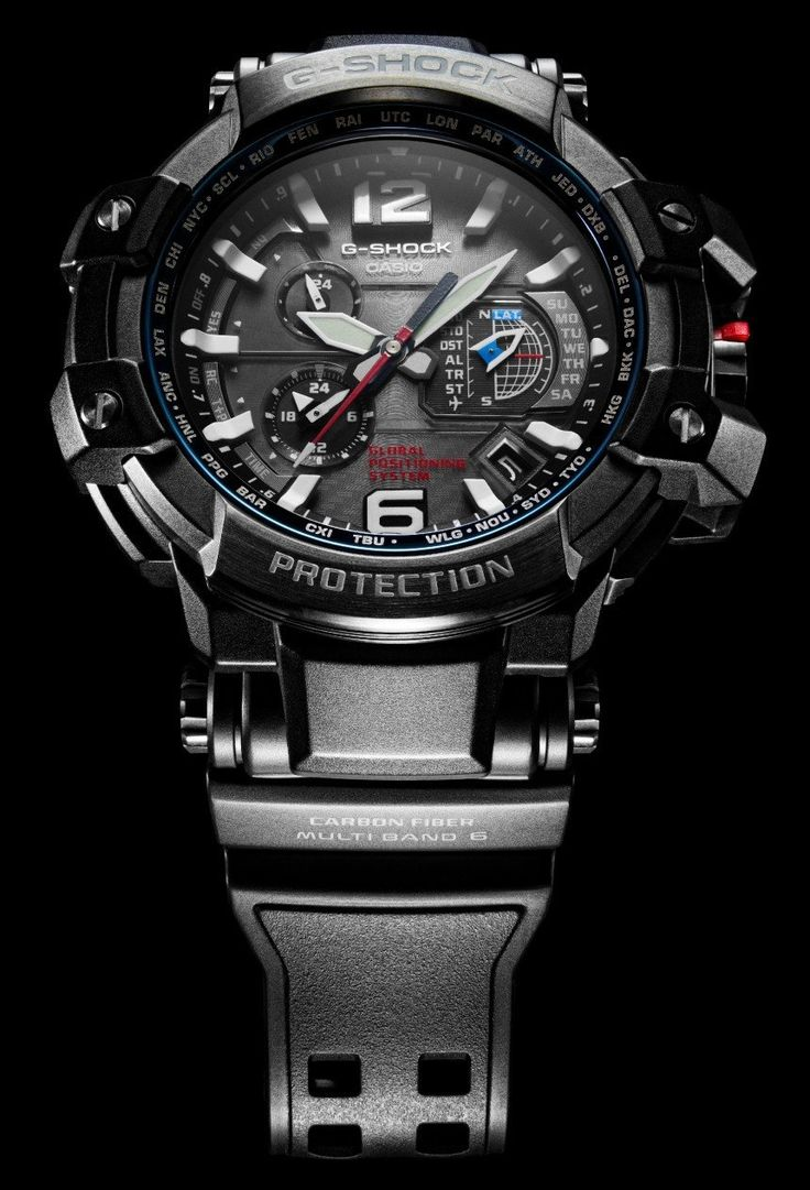 Casio G Shock GPW1000 Is First Watch To Combine GPS & Atomic Clock Radio Time Syncing   watch releases